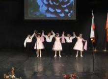 Танц на ученици от І, ІІ и ІV клас
