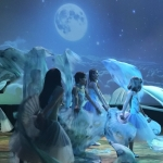 """Ученици от ІV ПУИ """"Проф. Д. Кацаров"""" в изпълнение на композицията """"Лунна светлина"""""""
